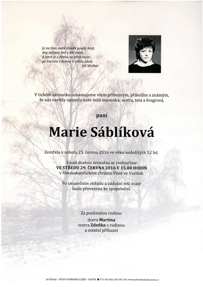 Marie Sáblíková
