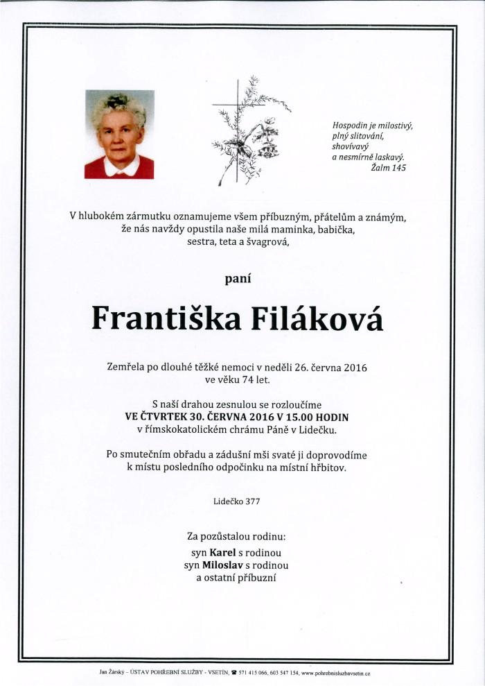 Františka Filáková
