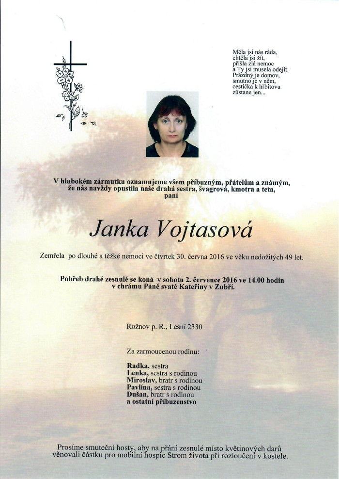 Janka Vojtasová