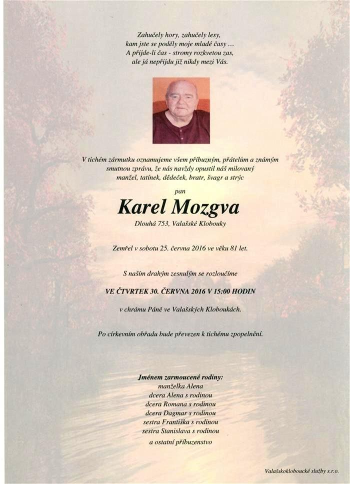 Karel Mozgva