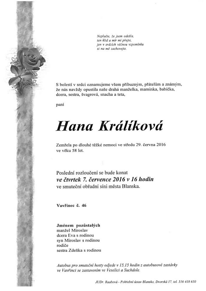 Hana Králíková