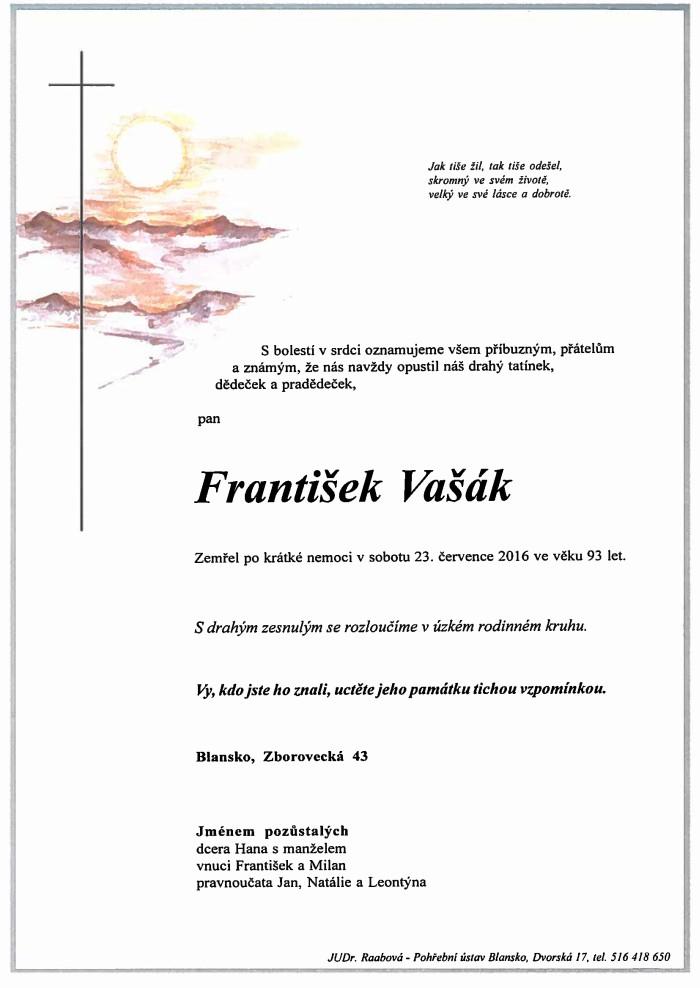 František Vašák