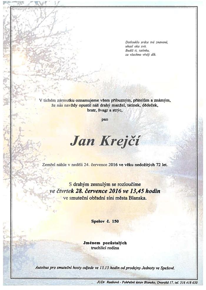 Jan Krejčí