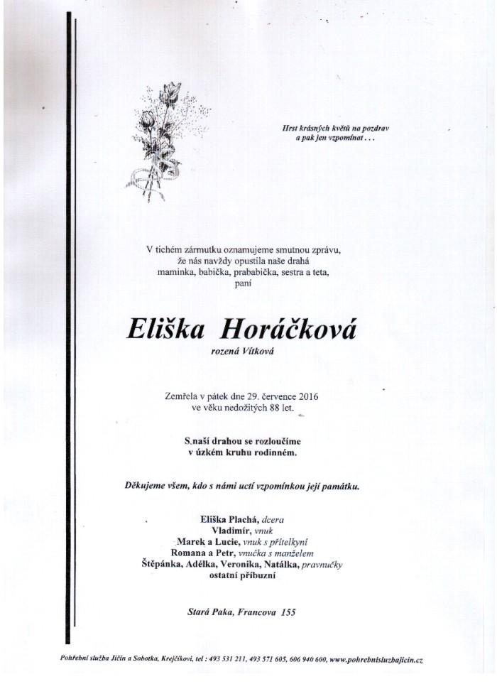 Eliška Horáčková