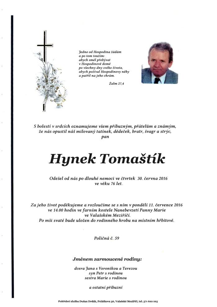 Hynek Tomaštík