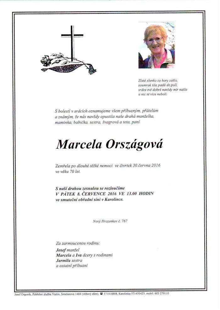 Marcela Országová