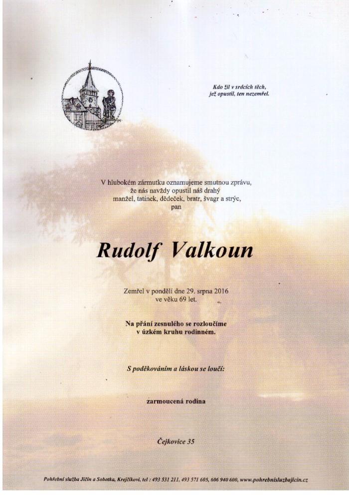 Rudolf Valkoun