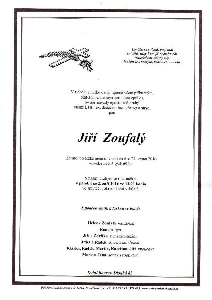 Jiří Zoufalý