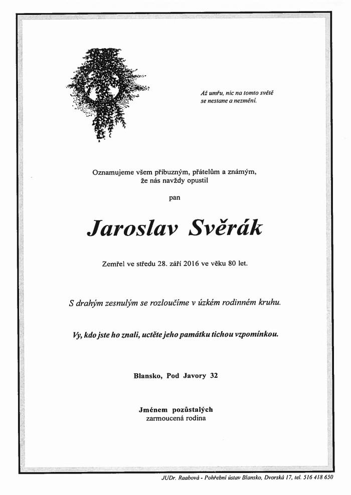 Jaroslav Svěrák