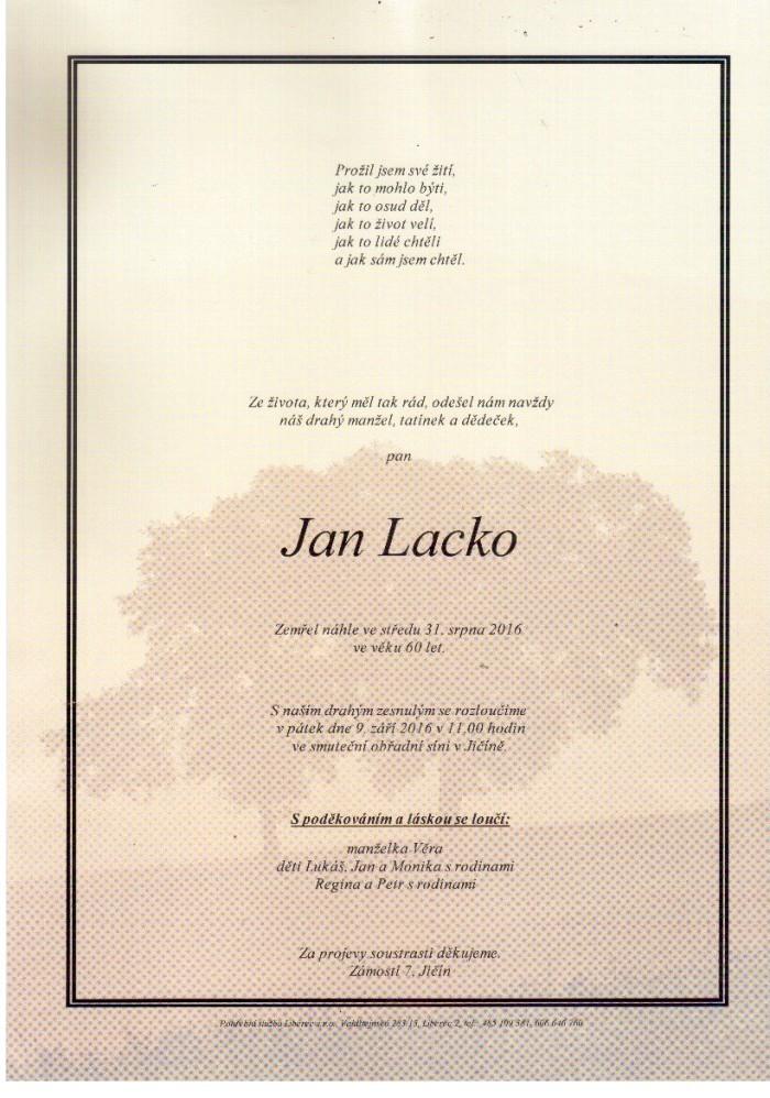 Jan Lacko