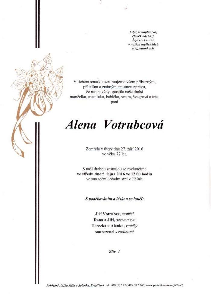 Alena Votrubcová