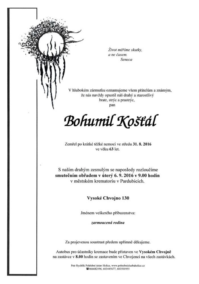 Bohumil Košťál