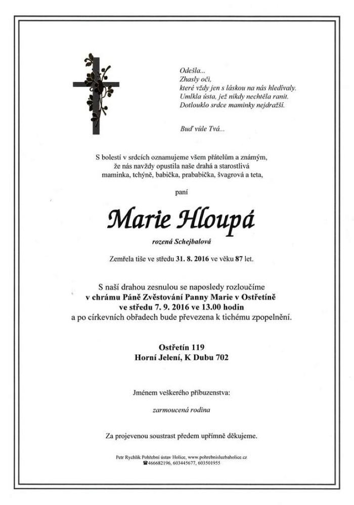 Marie Hloupá