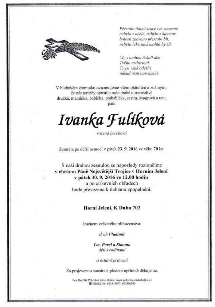 Ivanka Fulíková