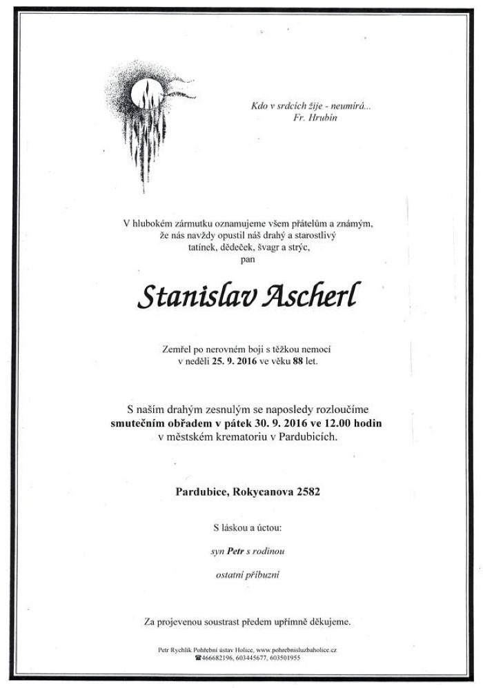 Stanislav Ascherl