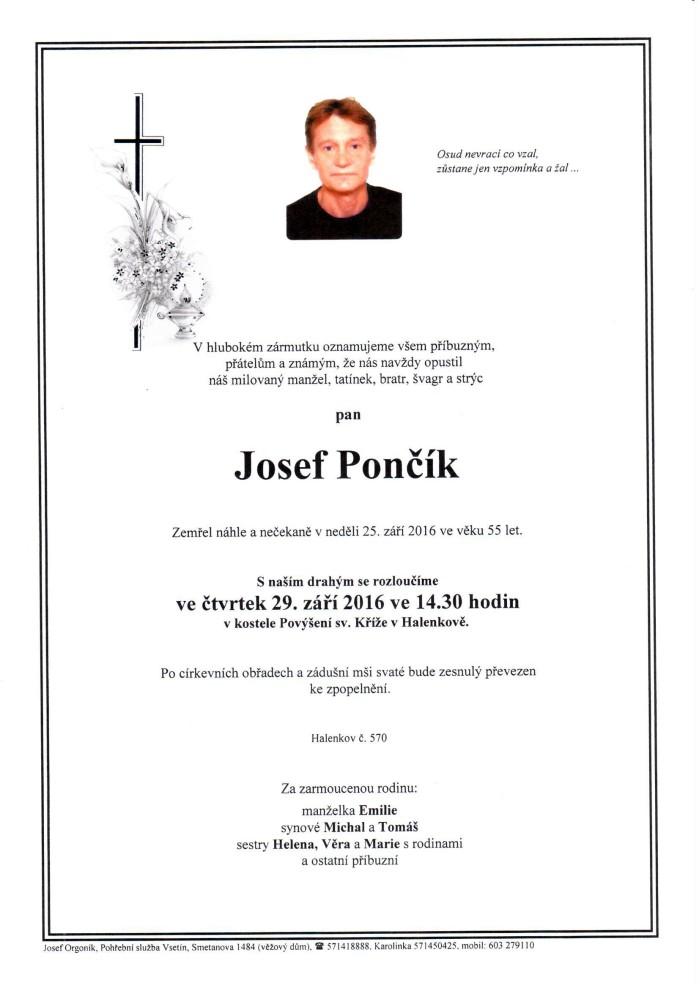 Josef Pončík