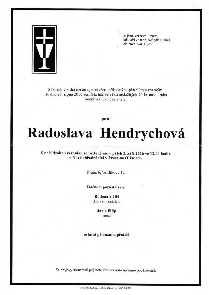 Radoslava Hendrychová