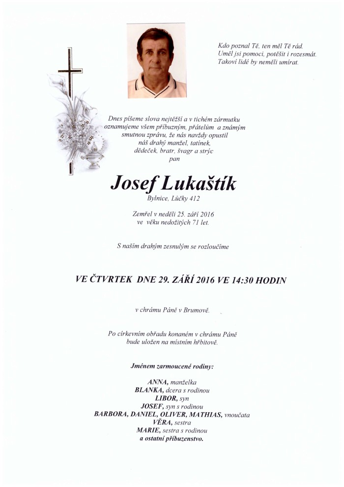 Josef Lukaštík