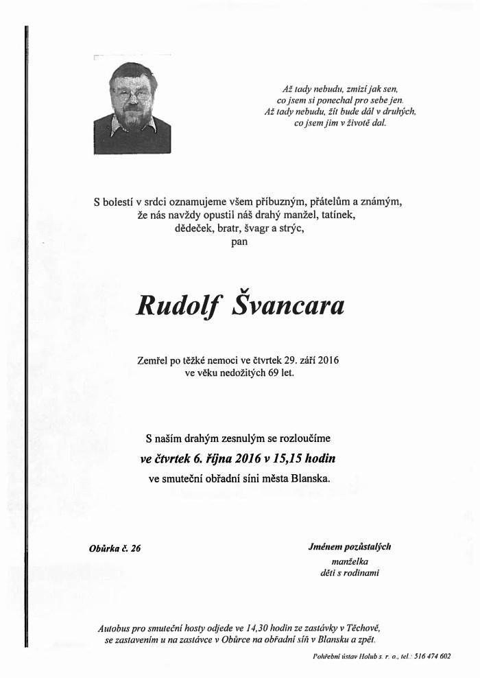 Rudolf Švancara