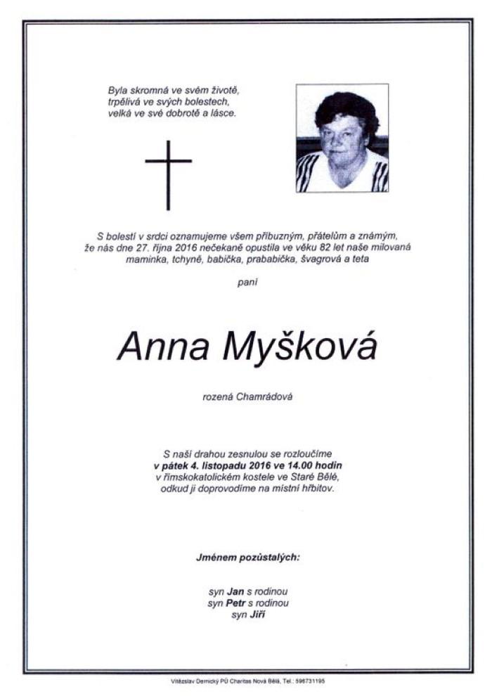 Anna Myšková