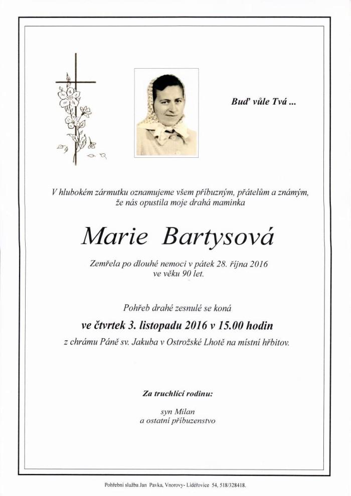Marie Bartysová