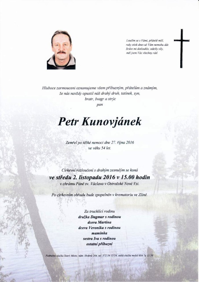 Petr Kunovjánek