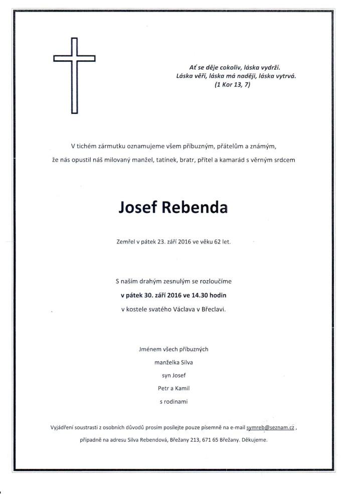 Josef Rebenda