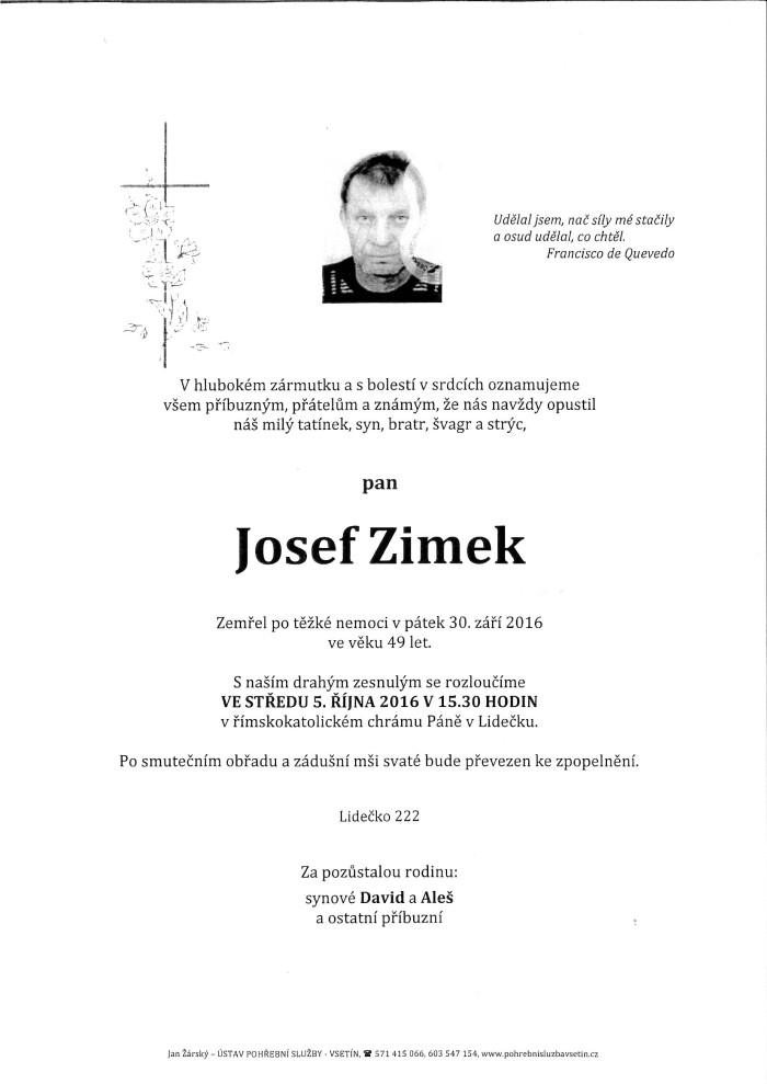 Josef Zimek