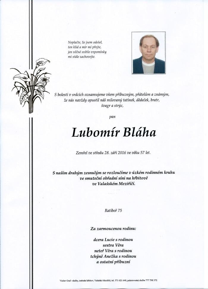 Lubomír Bláha