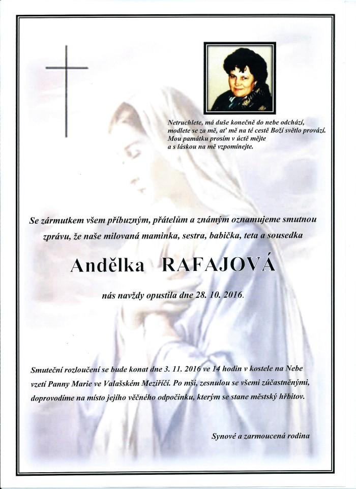 Andělka Rafajová