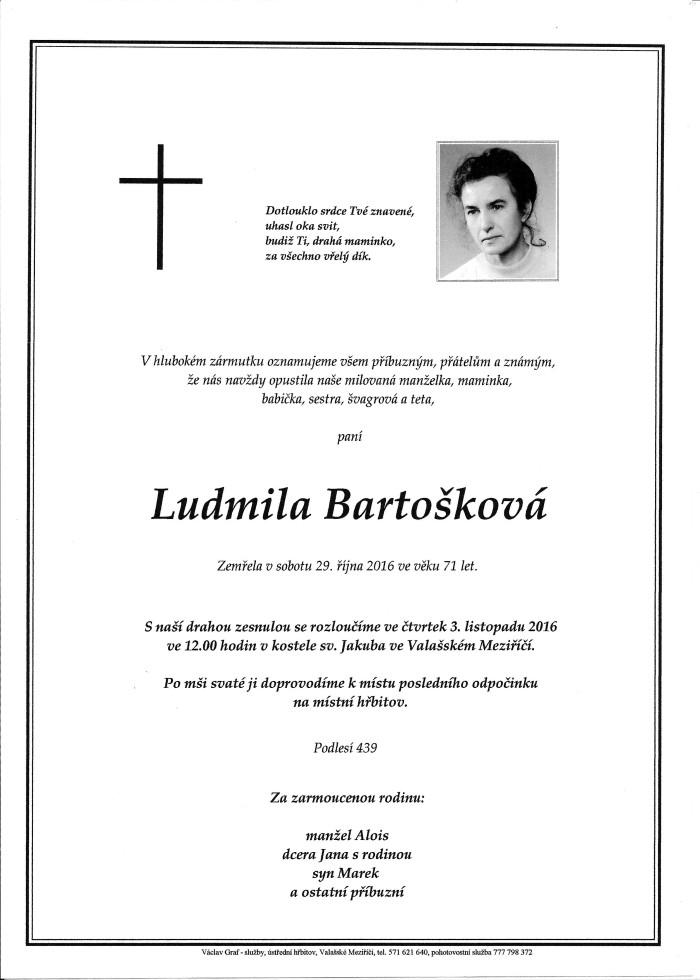 Ludmila Bartošková