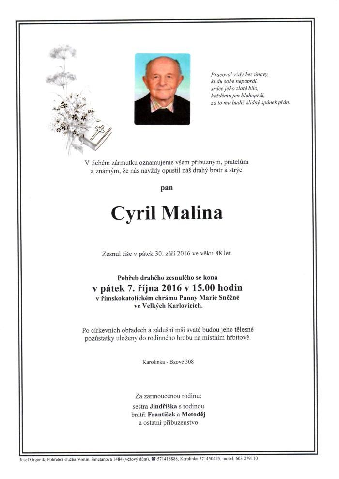 Cyril Malina