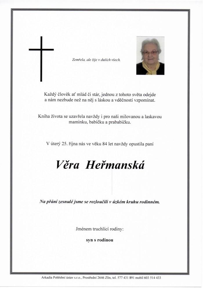 Věra Heřmanská