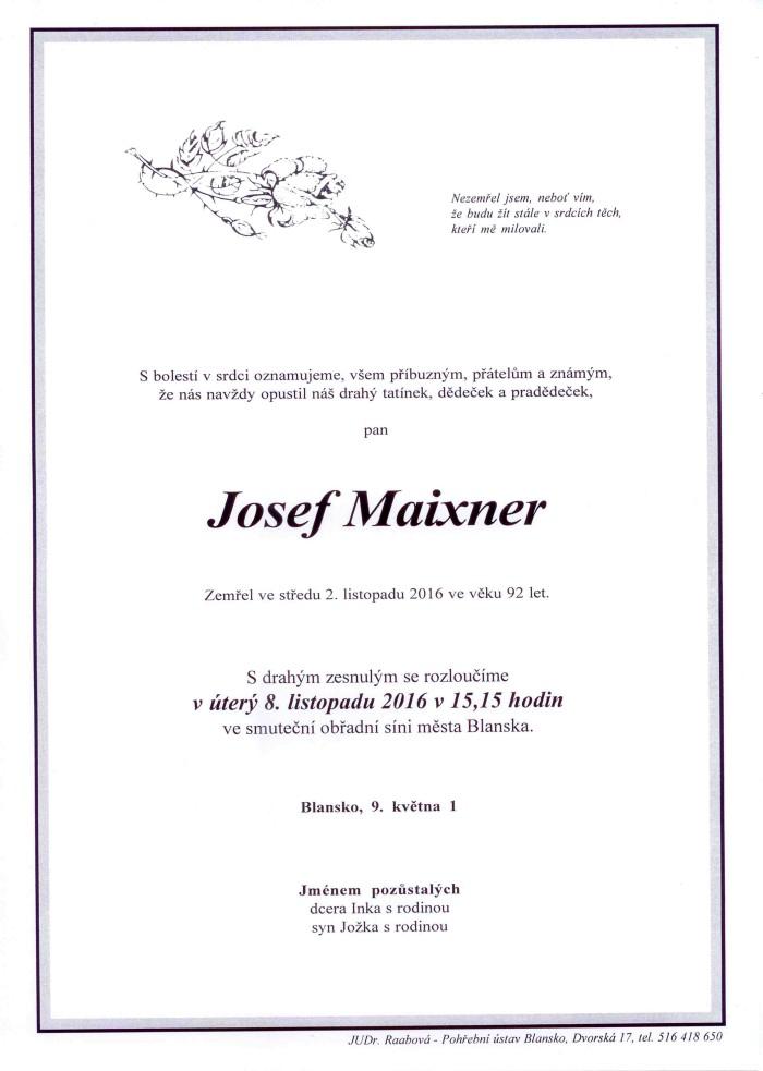 Josef Maixner