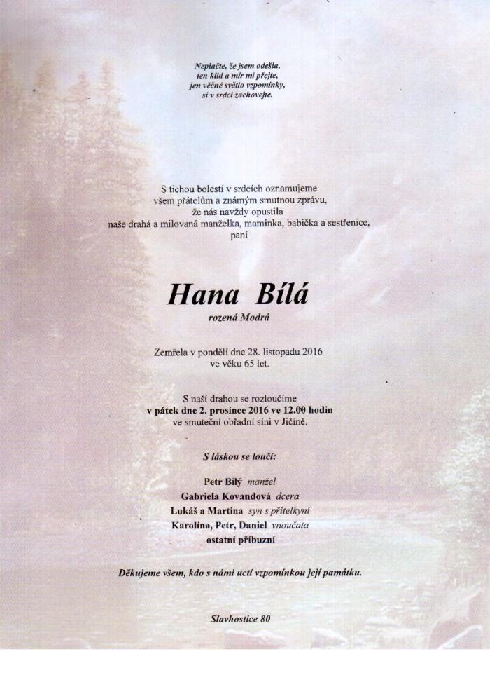 Hana Bílá
