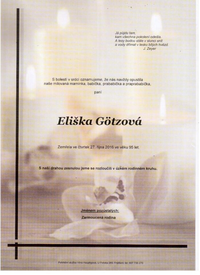 Eliška Götzová