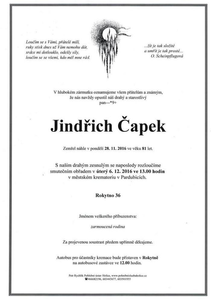 Jindřich Čapek