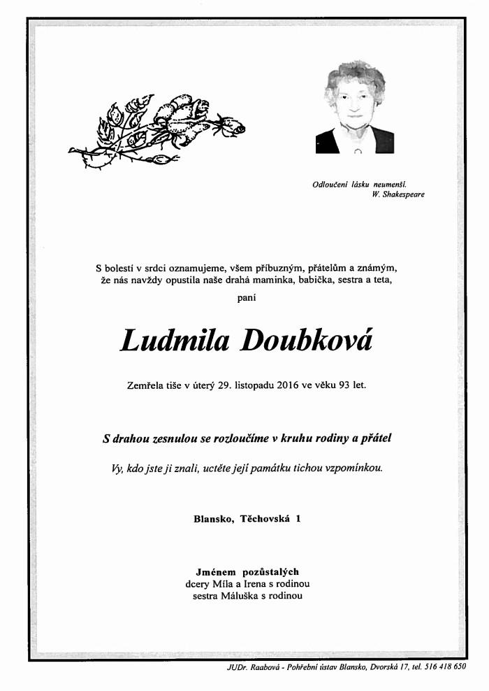 Ludmila Doubková