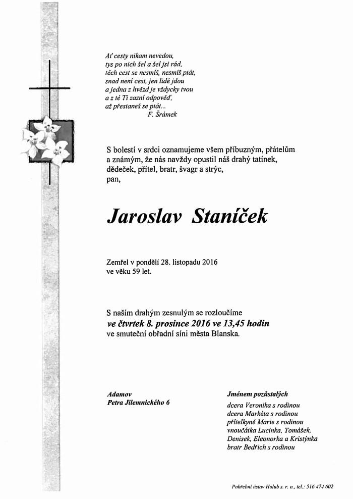 Jaroslav Staníček