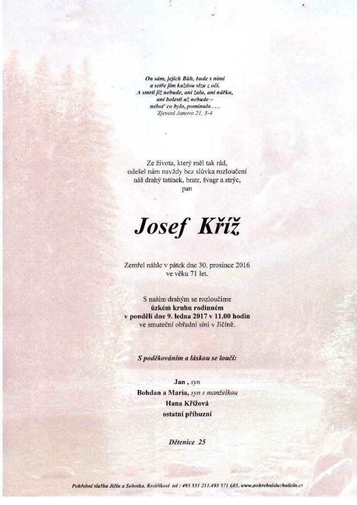 Josef Kříž