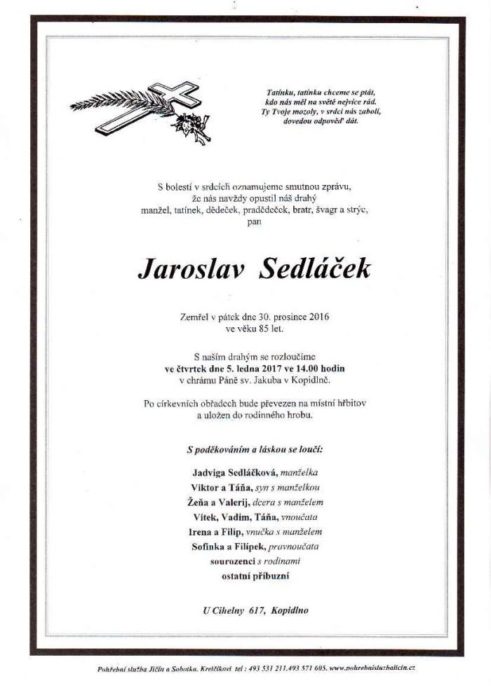 Jaroslav Sedláček