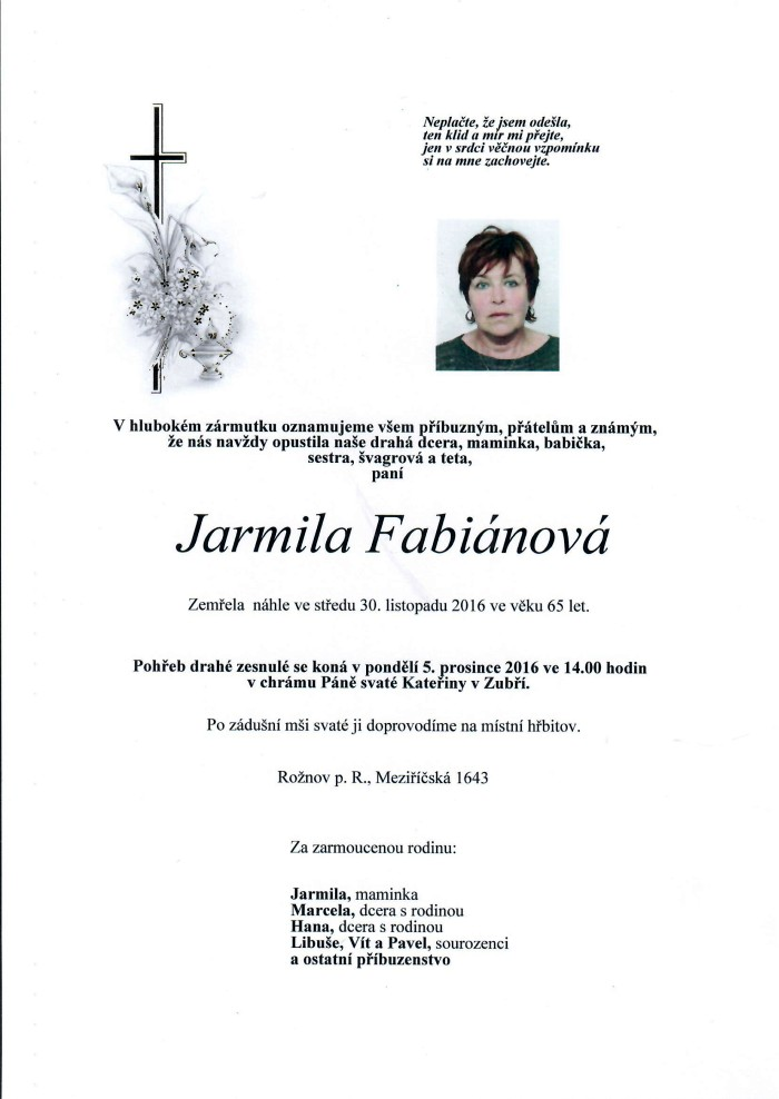 Jarmila Fabiánová