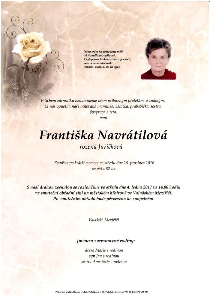 Františka Navrátilová
