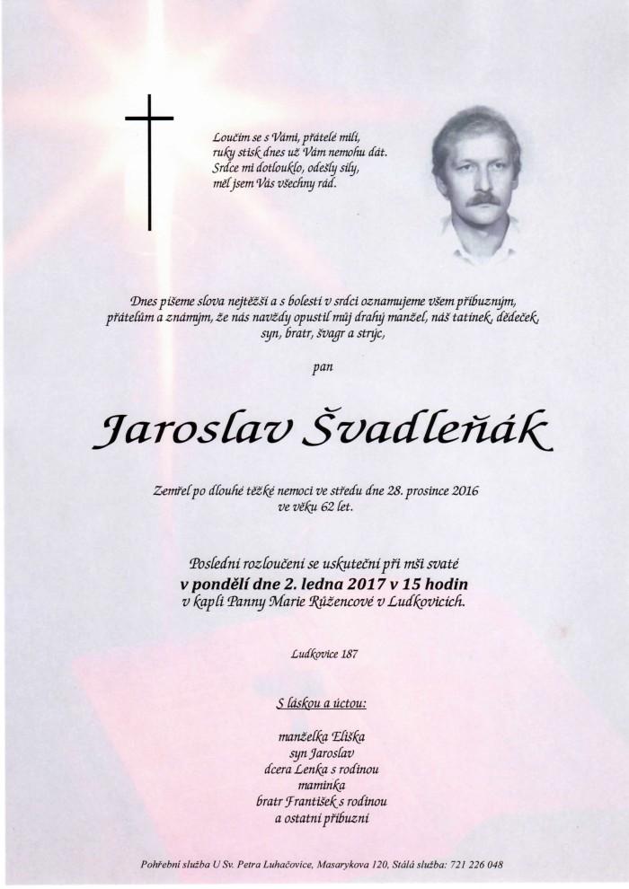 Jaroslav Švadleňák