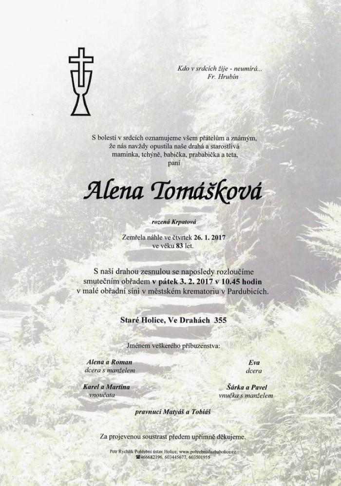 Alena Tomášková