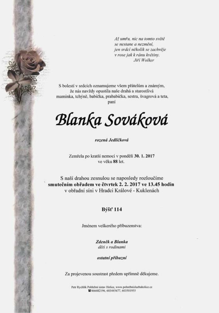 Blanka Sováková