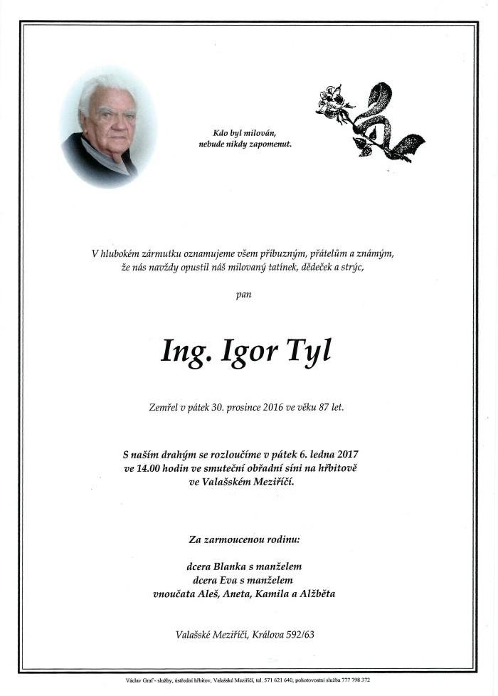 Ing. Igor Tyl