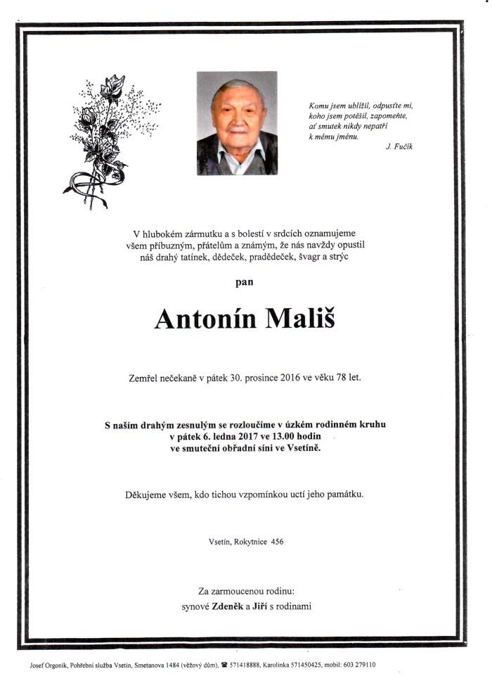 Antonín Mališ
