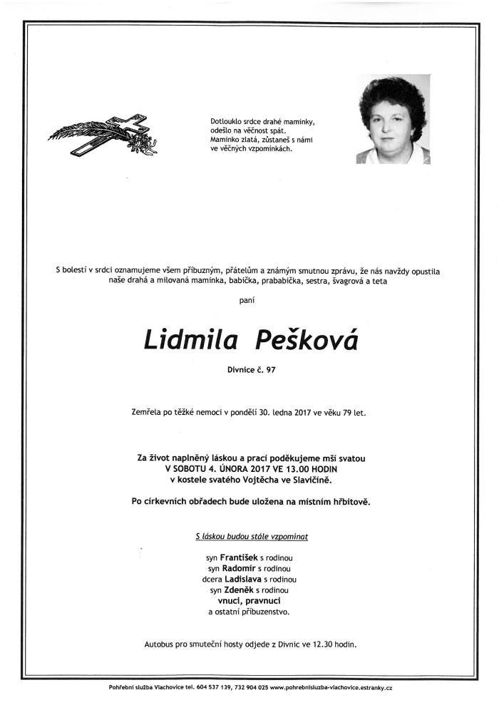 Lidmila Pešková