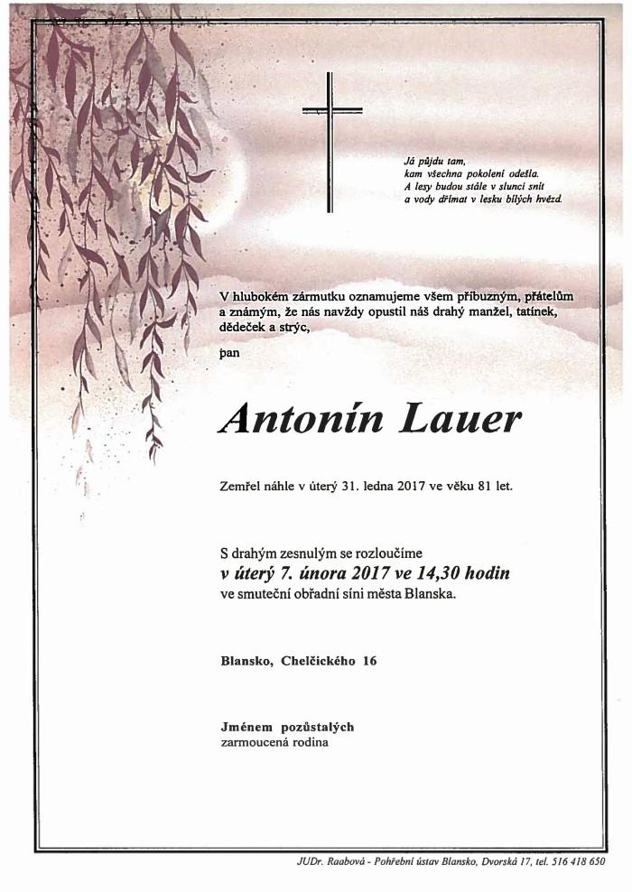 Antonín Lauer